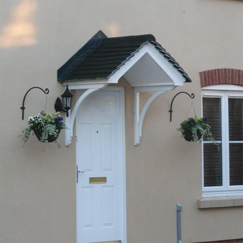 Gallows brackets and corbels from house martin online - Exterior structural wood brackets ...