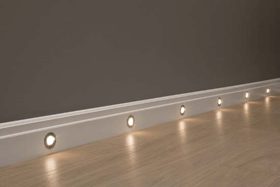 skirting board lighting and skirting lighting house martin online. Black Bedroom Furniture Sets. Home Design Ideas