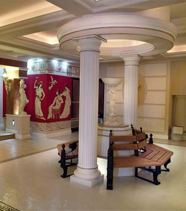 Full Columns & Columns Pillars and Pilasters - Architectural Mouldings - House ...