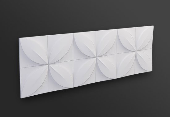 Arstyl Flower Wall Panel