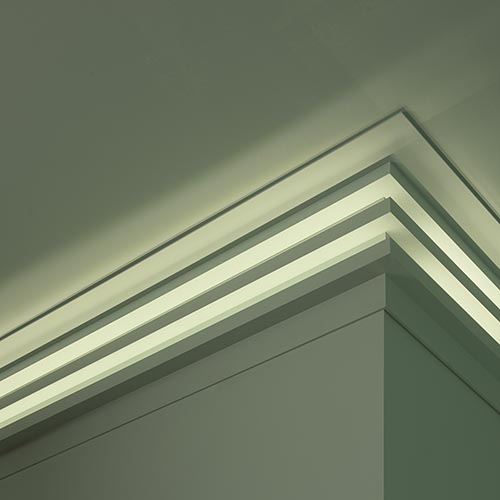 C 382 Linear Led Lighting Cornice Modern Range House