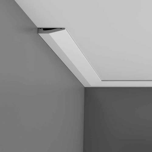 Standard architrave and ceiling coving gyproc and for Contemporary trim profiles