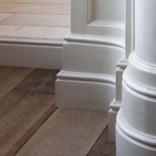 Sx 118 Plastic Skirting Board Interior Architectural