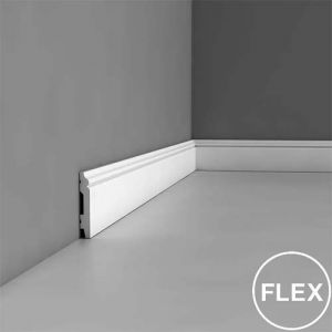 SX165F Flexi Skirting Moulding